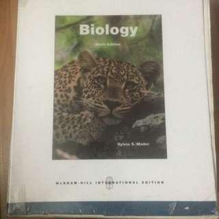 Biology 9th Ed. McGraw-Hill International Edition