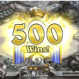 Hearthstone Rank/Wins Boosting