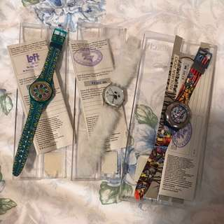 Swatch Vintage Watches From 1994-1995