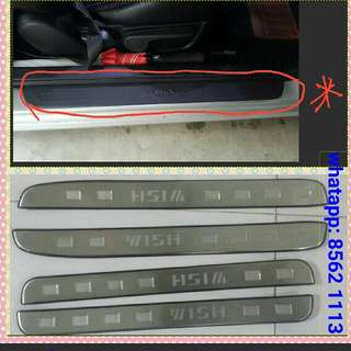 Toyota Wish ( 2009 To 2017 ) Model Door Scuff ( Non Led light)