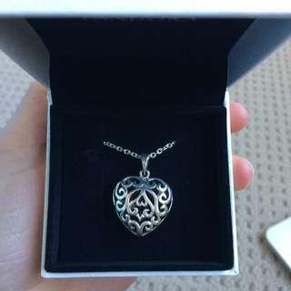 Pandora Pure Silver Heart Pendant