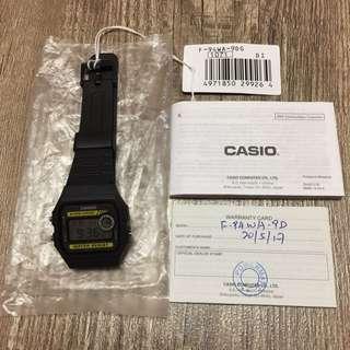 New Casio Watch (with Warranty)