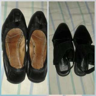 Authentic ferragamo,H and M shoes Both
