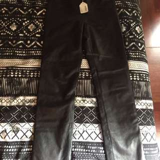leather pants Hugo buscati