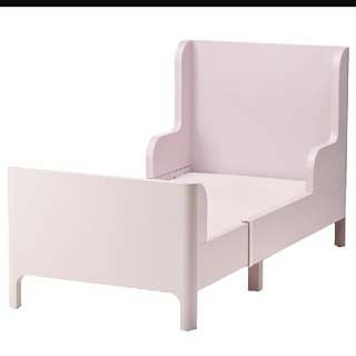 Extendable Bed - Light Pink