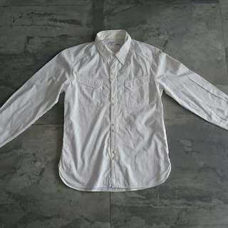 Neighborhood Shirt White Sz S