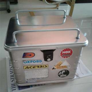 Hepco & Becker Alu Top Box With Base Plate- Price Firm, No Nego