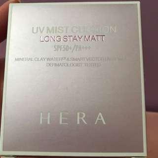 Hera UV Mist Cushion Long Stay Matte Refill Set
