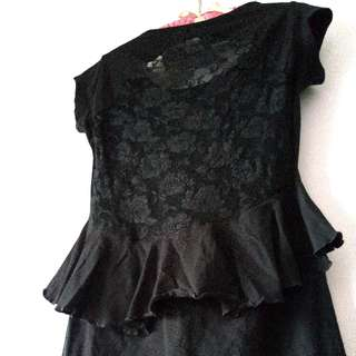 Sexy Lace & Frills Pin Up Dress From Cotton On