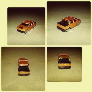 Maisto Hummer H2 Concept 2001 Bronze Orange Diecast Toy Model Cars