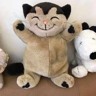 🚚 笑咪咪貓 玩偶