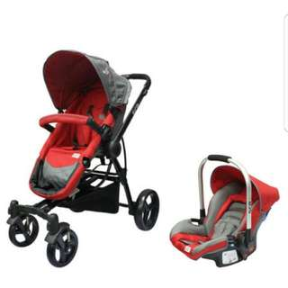 Sweet Cherry Stroller & Carseat