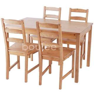 IKEA Dining Table With 3 Chairs