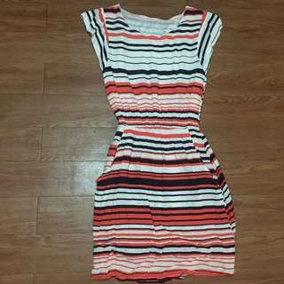 Casual Stripes Dress