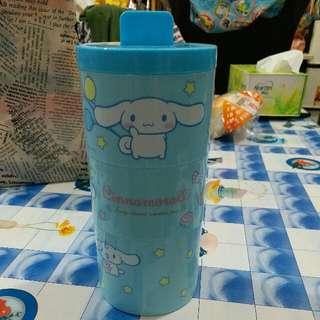 全新 包郵 Cinnamoroll 玉桂狗 Lunch Box 午餐盒 食物盒 Sanrio一番賞