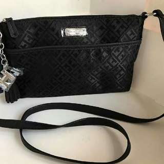 Authentic Tommy Hilfiger cross body sling bag