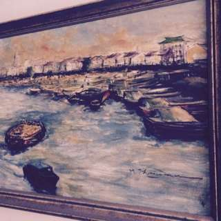 2 Paintings Of Singapore In 1960's