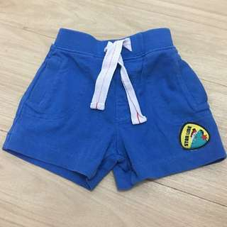 Preloved MotherCare Blue shorts for Baby Boy👶🏻