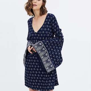 Tigerlily tengri dress xs