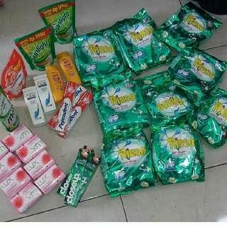 Paket Sabun Rinso Dll