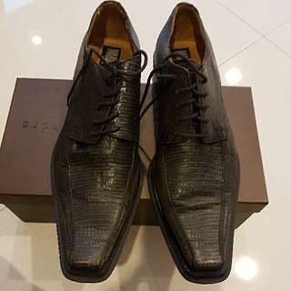 Mario Cuomo Leather Shoes Size 44