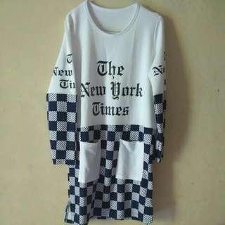 Navy Blouse Tunic