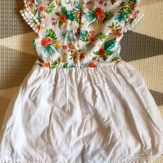 Baby Girl Dress - Romper style (12-18 Months)