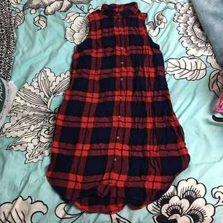 H&M Tartan Shirt Dress