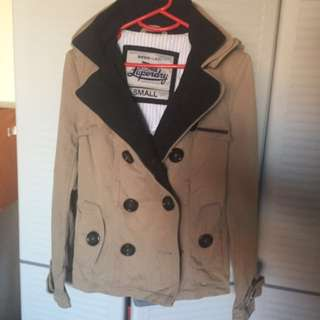 Size Small Superdry Parka Jacket