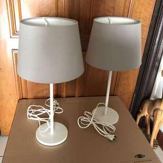 Mint IKEA Bedside/desk Lamps