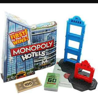 *RM30 OFF!* Authentic Monopoly Hotels LIMITED EDITION!