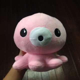 Pink Octopus Stuffed Animal