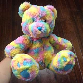 Rainbow Bear Stuffed Animal