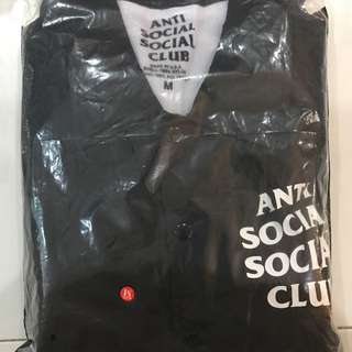 Anti Social Social Club Coach Jacket (Black)