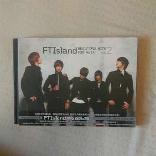 ftisland 無敵首選二輯 beautiful hits for Asia