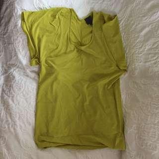 Calvin Klein 黃色上衫