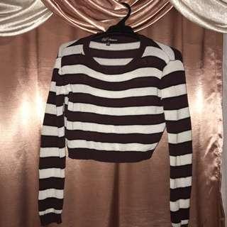 Stripy knit