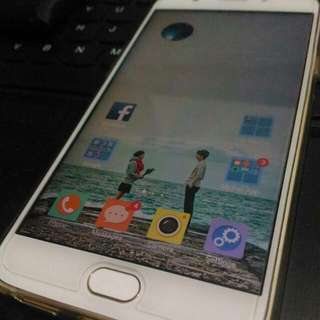 SALE!! Oppo F1s Gold - Complete Set