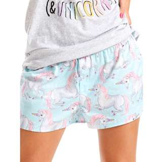 Peter Alexander Women Unicorn Glitter Minishort RRP $39.95