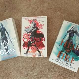 Throne Of Glass (Books 1-3)