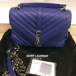 Saint Laurent YSL college medium