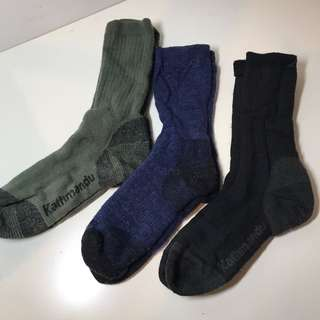 Winter Camping Or Hiking Socks For Young Men