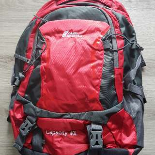 Camel Mountain 40L Backpack