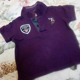 Polo Authentic Purple T-shirt