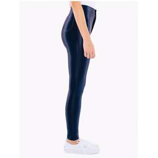 American Apparel Disco Pants Navy