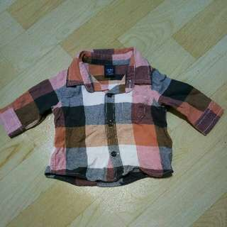 Pre Loved baby gap Checkered Polo