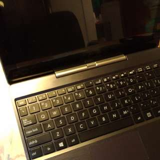 Asus T100TA + 500GB HDD win8.1 win10 notebook 平板 輕薄筆電