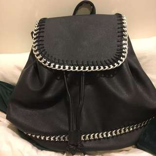 Supre Leather Backpack