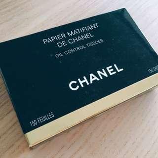 CHANEL (Authentic) Blotting Paper