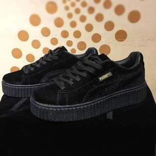 Puma FENTY 厚底鞋/黑色